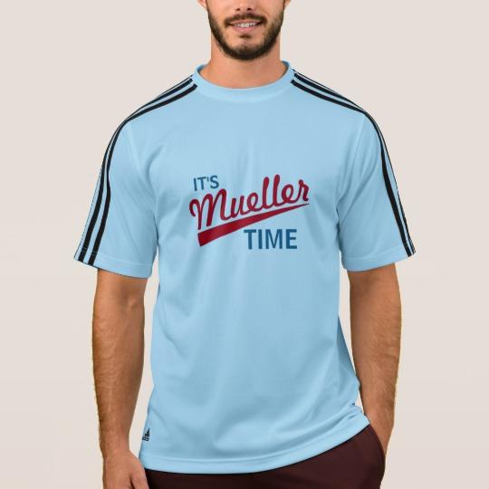 It's Mueller Time Men's Adidas ClimaLite® T-Shirt