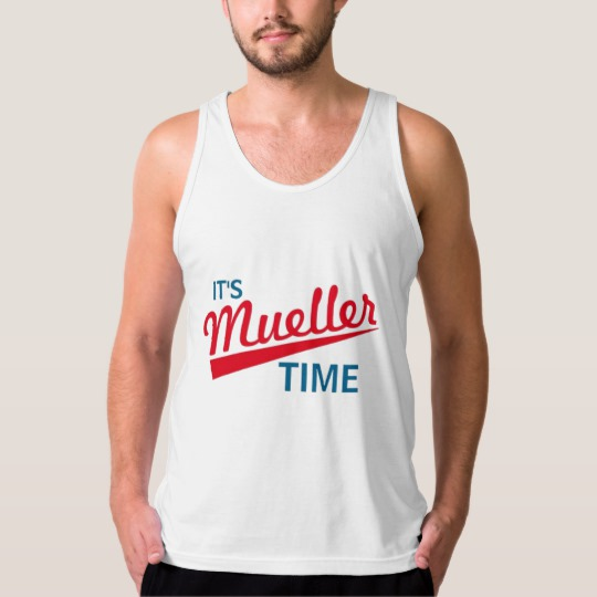 It's Mueller Time Men's American Apparel Fine Jersey Tank Top