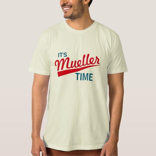 It's Mueller Time Men's American Apparel Organic T-Shirt