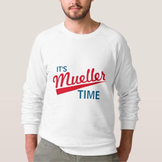It's Mueller Time Men's American Apparel Raglan Sweatshirt