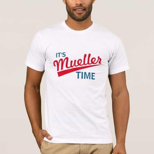 It's Mueller Time Men's Basic American Apparel T-Shirt