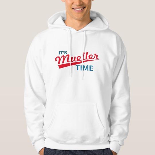 It's Mueller Time Men's Basic Hooded Sweatshirt