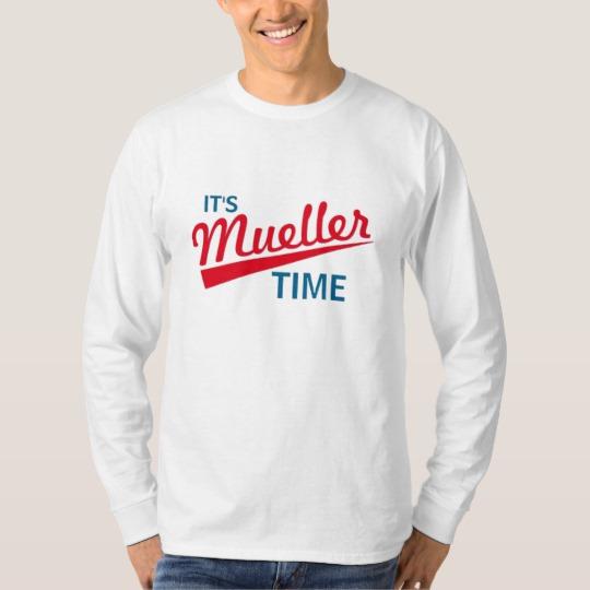 It's Mueller Time Men's Basic Long Sleeve T-Shirt