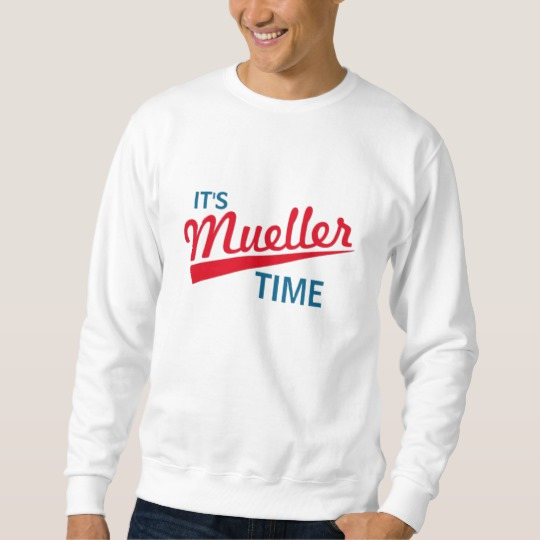 It's Mueller Time Men's Basic Sweatshirt