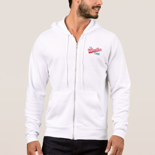 It's Mueller Time Men's Bella+Canvas Full-Zip Hoodie