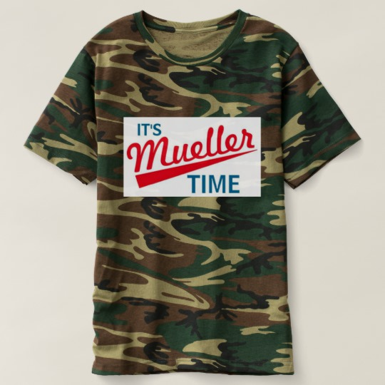 It's Mueller Time Men's Camouflage T-Shirt