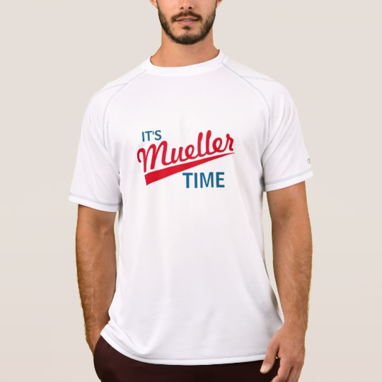 It's Mueller Time Men's Champion Double Dry Mesh T-Shirt