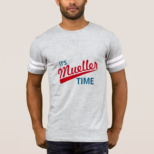 It's Mueller Time Men's Football T-Shirt