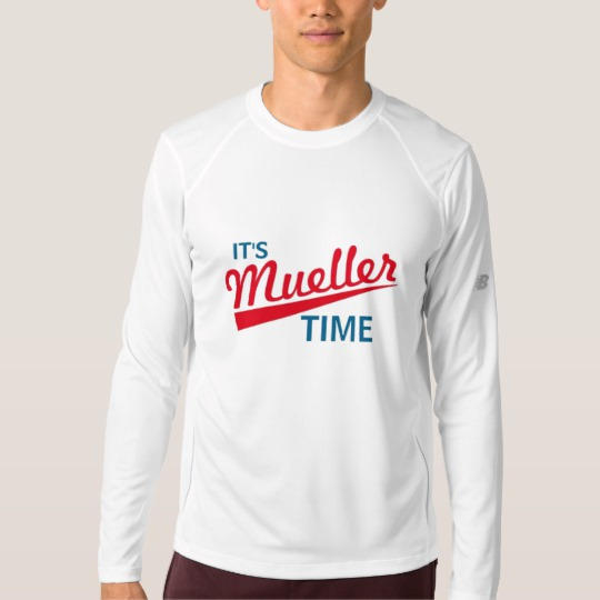 It's Mueller Time Men's New Balance Long Sleeve T-Shirt