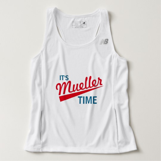 It's Mueller Time Men's New Balance Tempo Running Tank Top
