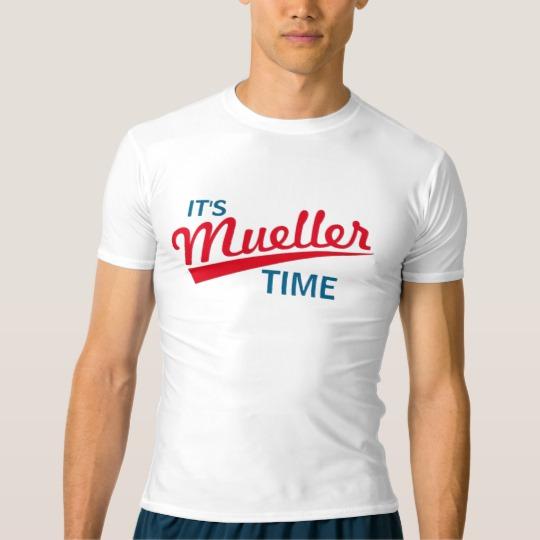 It's Mueller Time Men's Performance Compression T-Shirt