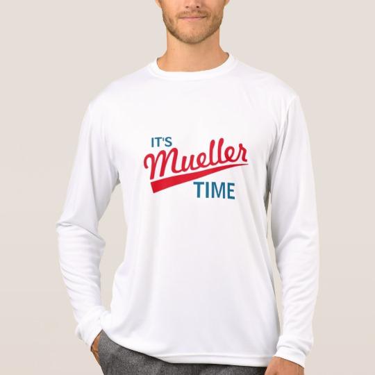 It's Mueller Time Men's Sport-Tek Competitor Long Sleeve T-Shirt