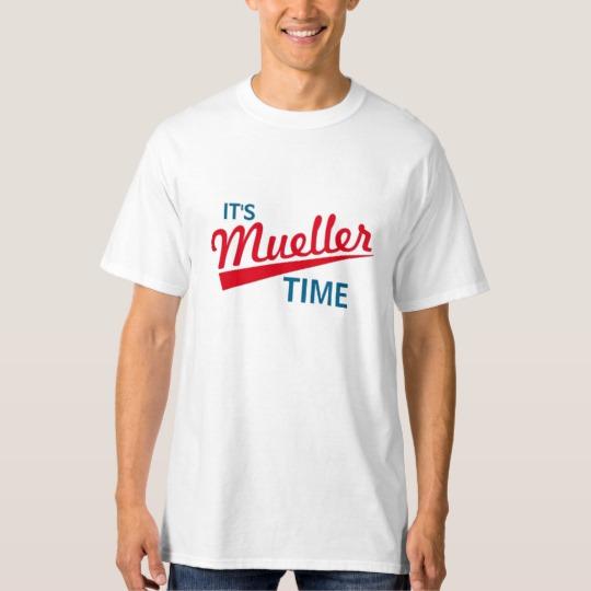 It's Mueller Time Men's Tall Hanes T-Shirt