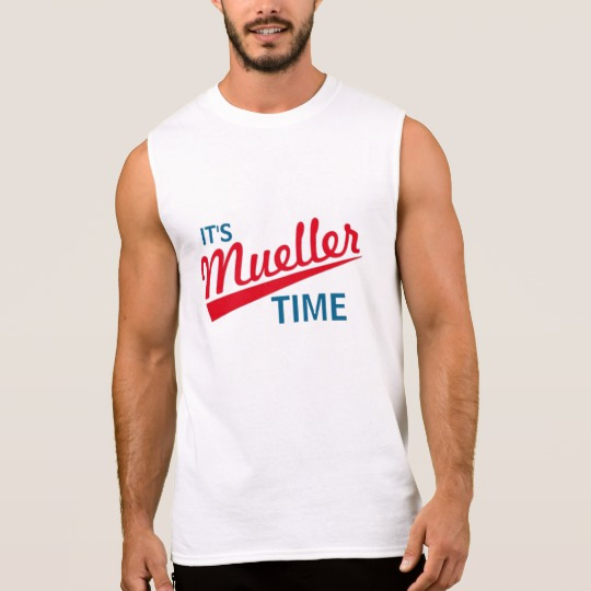 It's Mueller Time Men's Ultra Cotton Sleeveless T-Shirt