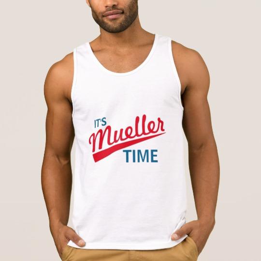 It's Mueller Time Men's Ultra Cotton Tank Top