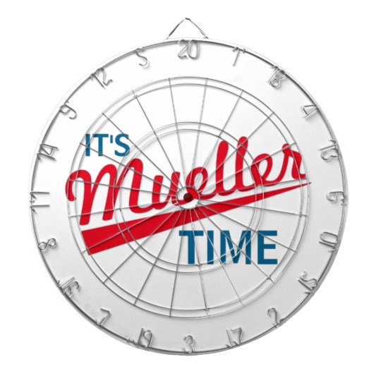 It's Mueller Time ProfiledInk Dart Board
