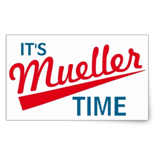 It's Mueller Time Rectangle Stickers