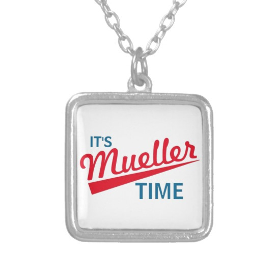 It's Mueller Time Silver Plated Necklace