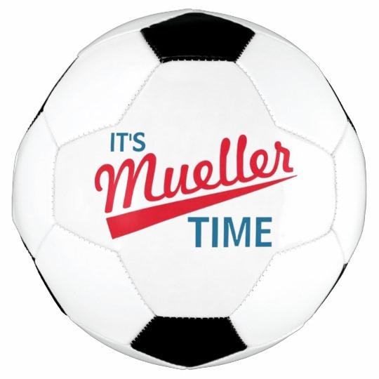 It's Mueller Time Soccer Ball