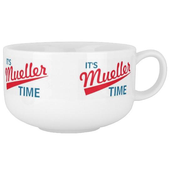 It's Mueller Time Soup Mug