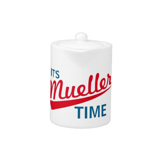 It's Mueller Time Teapot