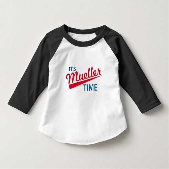 It's Mueller Time Toddler American Apparel 3/4 Sleeve Raglan T-Shirt