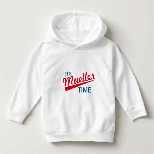 It's Mueller Time Toddler Pullover Hoodie