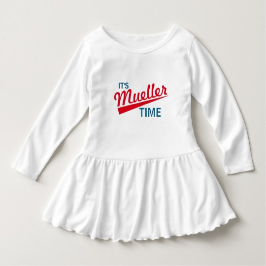 It's Mueller Time Toddler Ruffle Dress