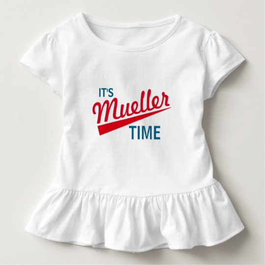 It's Mueller Time Toddler Ruffle Tee