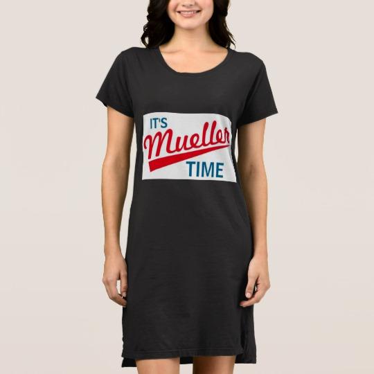 It's Mueller Time Women's Alternative Apparel T-Shirt Dress