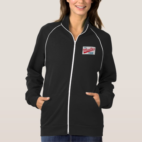 It's Mueller Time Women's American Apparel California Fleece Track Jacket