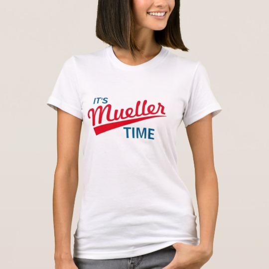 It's Mueller Time Women's American Apparel Fine Jersey T-Shirt