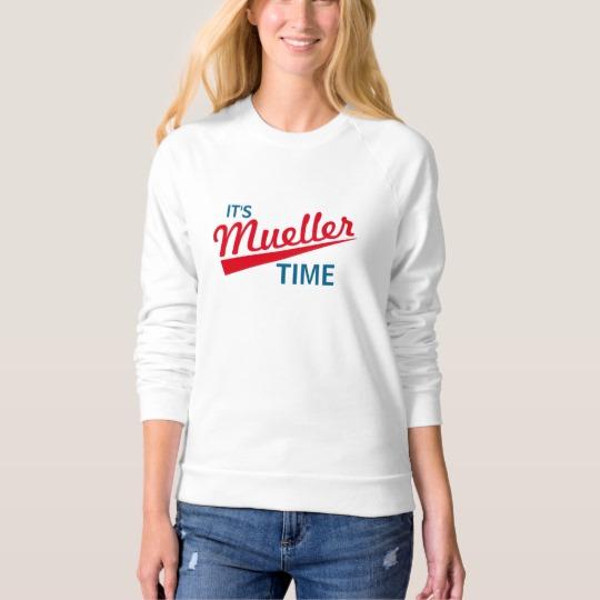 It's Mueller Time Women's American Apparel Raglan Sweatshirt