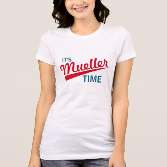 It's Mueller Time Women's Bella+Canvas Favorite Jersey T-Shirt