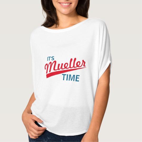 It's Mueller Time Women's Bella+Canvas Flowy Circle Top