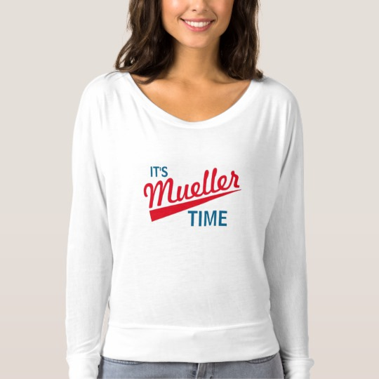 It's Mueller Time Women's Bella+Canvas Flowy Off Shoulder Shirt