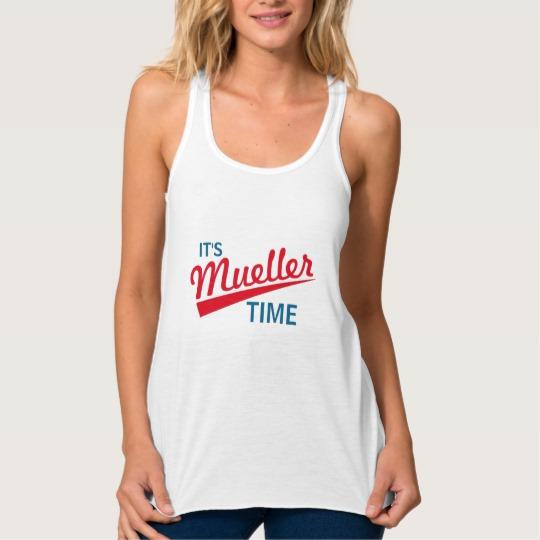 It's Mueller Time Women's Bella+Canvas Flowy Racerback Tank Top