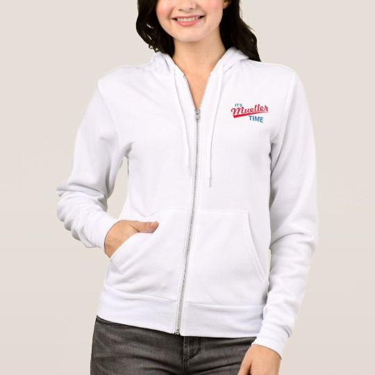 It's Mueller Time Women's Bella+Canvas Full-Zip Hoodie