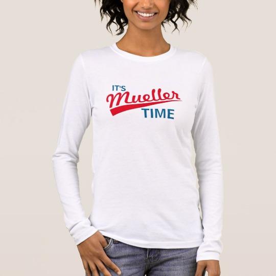 It's Mueller Time Women's Bella+Canvas Long Sleeve T-Shirt