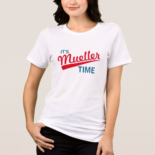 It's Mueller Time Women's Bella+Canvas Relaxed Fit Jersey T-Shirt