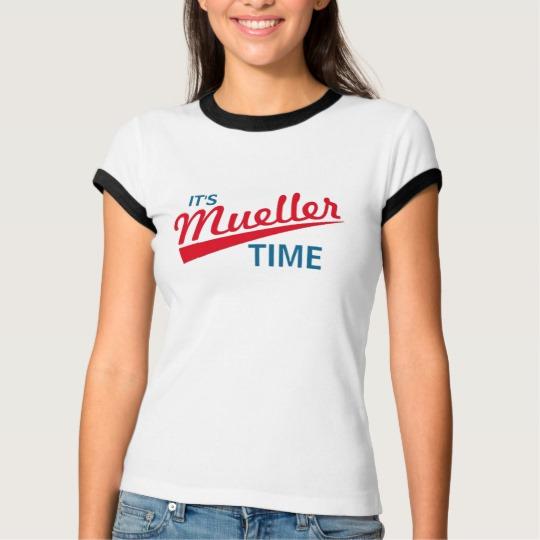 It's Mueller Time Women's Bella+Canvas Ringer T-Shirt