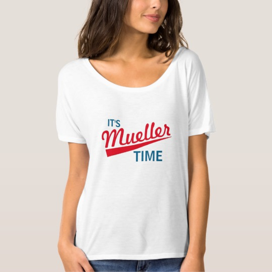 It's Mueller Time Women's Bella+Canvas Slouchy Boyfriend T-Shirt