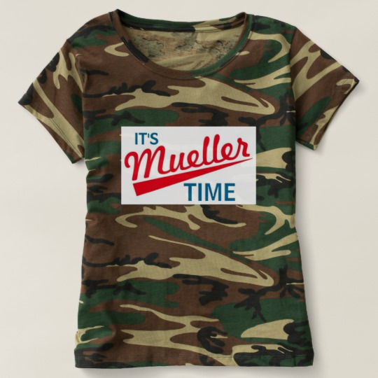 It's Mueller Time Women's Camouflage T-Shirt