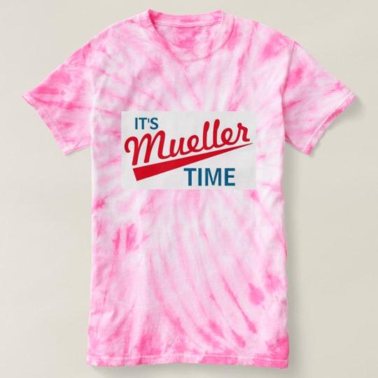 It's Mueller Time Women's Cyclone Tie-Dye T-Shirt