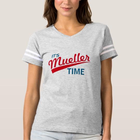It's Mueller Time Women's Football T-Shirt