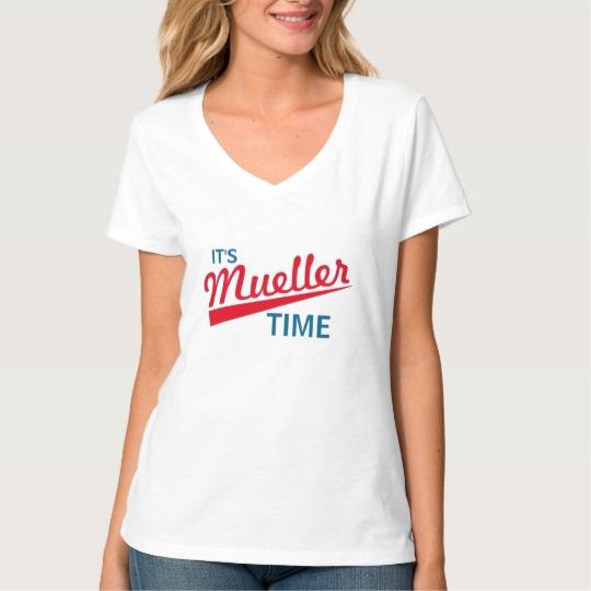 It's Mueller Time Women's Hanes Nano V-Neck T-Shirt