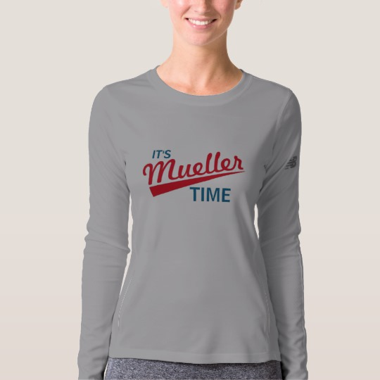 It's Mueller Time Women's New Balance Long Sleeve T-Shirt