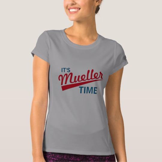 It's Mueller Time Women's New Balance T-Shirt