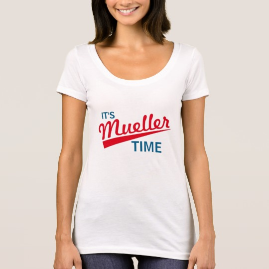 It's Mueller Time Women's Next Level Scoop Neck T-Shirt