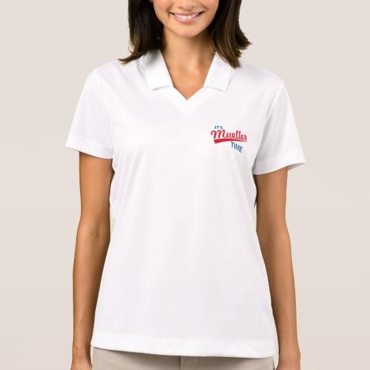 It's Mueller Time Women's Nike Dri-FIT Pique Polo Shirt